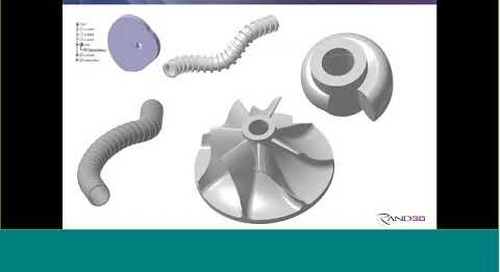 Rand 3D Webcast: Advanced Surfacing with Laws in CATIA V5