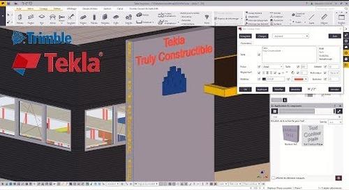 Astuce Tekla Structures : Éditeur de texte