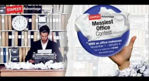 Staples Advantage Canada Messiest Office Contest!