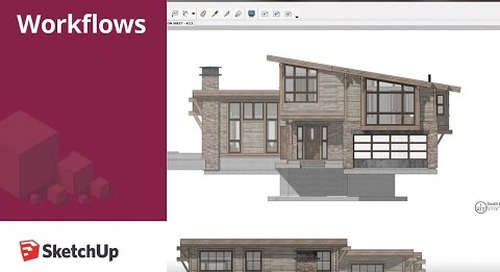 SketchUp for Construction Documentation: Layout Elevation Template