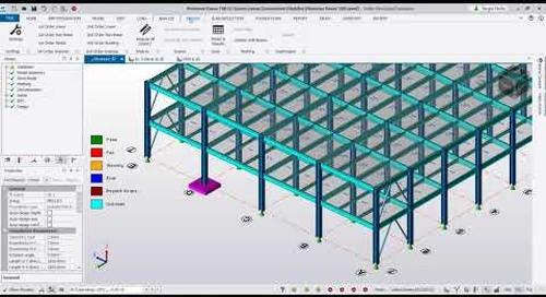 Diseño Estructural en Tekla Structural Designer