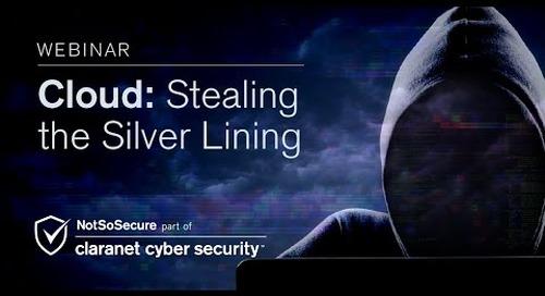 Webinar | Cloud: Stealing the Silver Lining