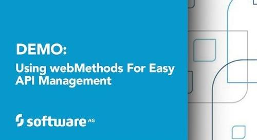 Using webMethods for Easy API Management