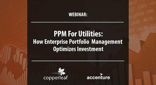 Webinar: PPM For Utilities - How Enterprise Portfolio Management Optimizes Investment