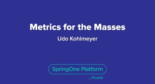 Metrics for the Masses