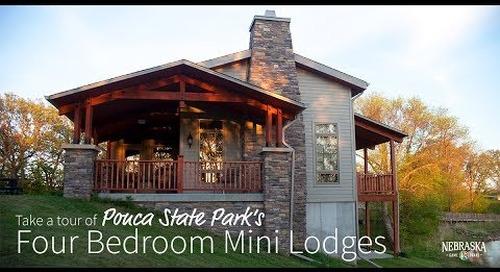 Tour Ponca State Park's Stunning Mini Lodges