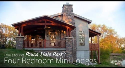 Tour Ponca State Park's Stunning Mini Lodges
