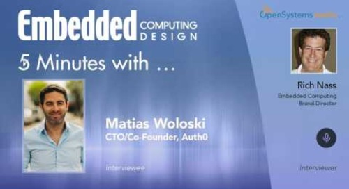Five Minutes With…Matias Woloski, CTO/Co-Founder, Auth0