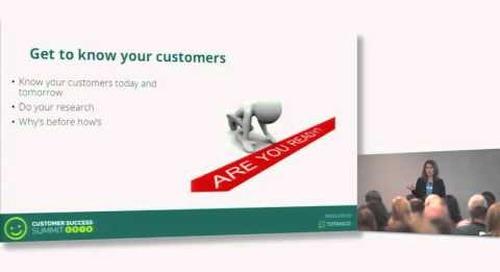 Designing An Actionable Customer Health Model - Maranda Dziekonski