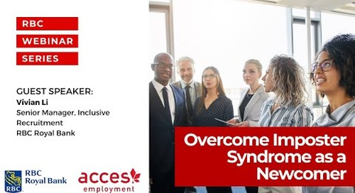 Overcome Imposter Syndrome as a Newcomer