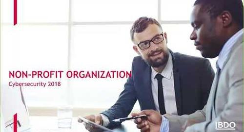 Cybersecurity for Non-Profit Organizations | BDO Canada