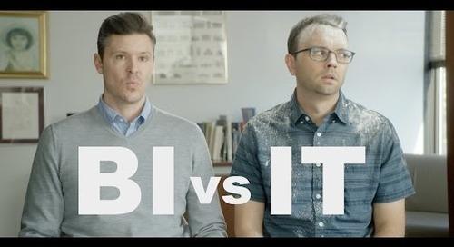 BI vs. IT: The Struggle for Data Ends Now