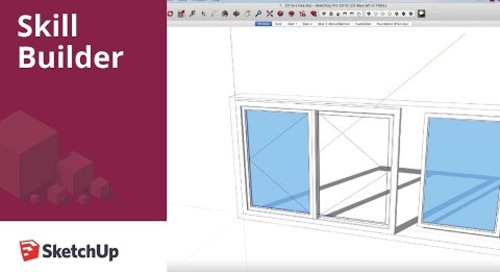 [Skill Builder] Dashed Lines in SketchUp Pro 2019