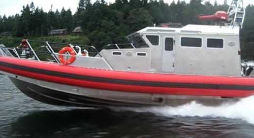 MARINE 6 fireboat Bravest Port Orchard