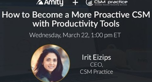 How to Become a More Proactive CSM with Productivity Tools