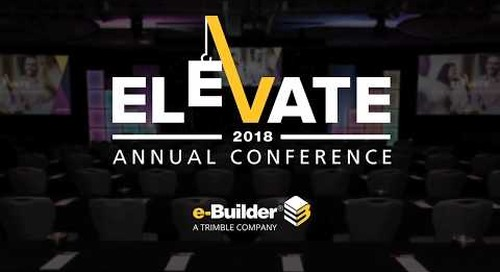 Elevate 2018 Special Message