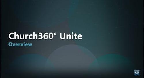 Church360° Unite Overview