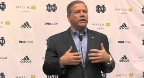 Brian Kelly Introduces Brian VanGorder as Notre Dame's Defensive Coordinator