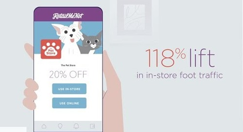 Drive More In-store with RetailMeNot