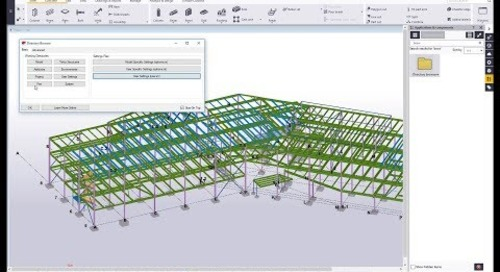 Directory Browser in Tekla Structures