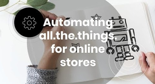 Webinar: How to Use eCommerce Automations for Your Store