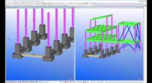Concrete Framing with Tekla Structures