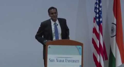 US Ambassador to India at Shiv Nadar University