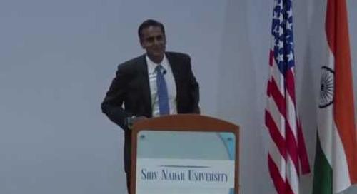 US Ambassador to India at Shiv Nadar University