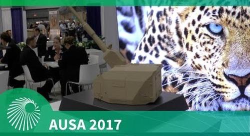 AUSA 2017: KMW's Artillery Gun Module