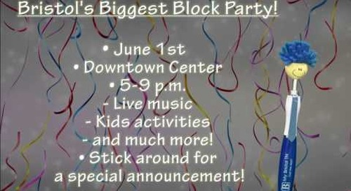 Billy Bristol Discusses Bristol's Block Party