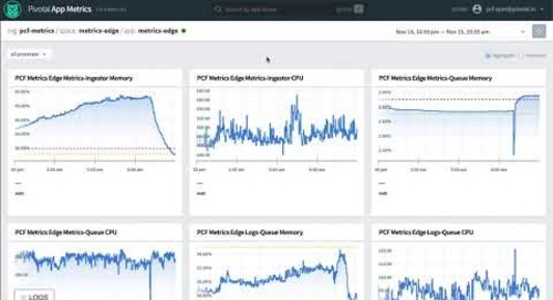Observing Platform Metrics Along Side Application Metrics