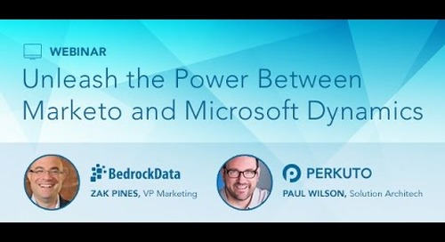 Session 3 - Marketo and Microsoft Dynamics Webinar Series