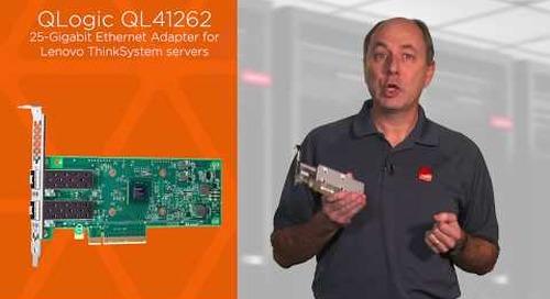 Lenovo QLogic QL41262 PCIe 25Gb 2-Port SFP28 Ethernet Adapter