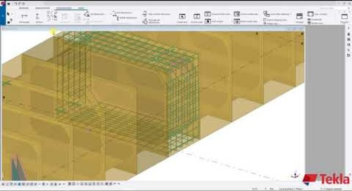 Utility Precast with Tekla Structures – Video 6 (Cast Unit-Drawings)