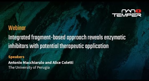 Integrated fragment-based approach reveals enzymatic inhibitors w/ potential therapeutic application