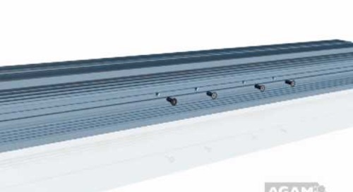 AGAM In-Line Connector with Extrusion DR 77