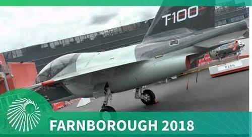 Farnborough Air Show 2018: Leonardo T-100 - An integrated T-X contender for the USAF