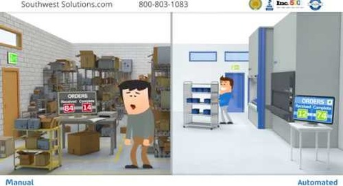 Automated vs. Manual Warehouse Batch Order Picking VLMs