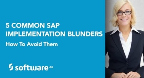Avoid these five common SAP project blunders