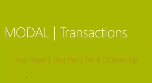 How Do I Implement Transaction Data Update in Dynamics NAV 2015