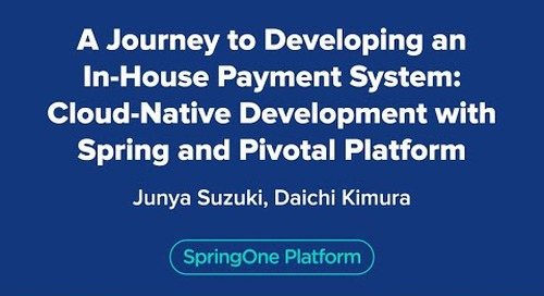 A Journey to Developing In-house Payment System