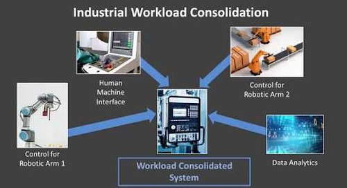 Industrial Workload Consolidation via Virtualization