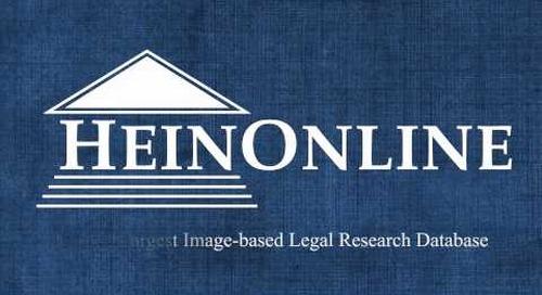 Hein Online Logo Animation