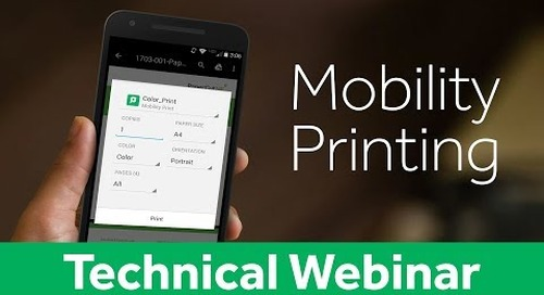 Mobility Printing with PaperCut & PrinterOn | Technical Webinar