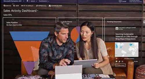Sell Effectively with Microsoft Dynamics 365