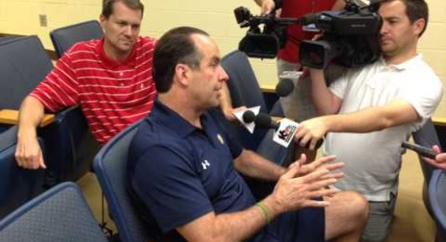 9-4-14 Mike Brey Press Conference