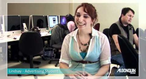 Student Testimonial - Advertising Program