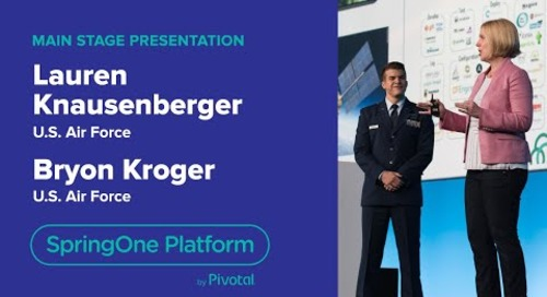 Lauren Knausenberger & Bryon Kroger, US Air Force—SpringOne Platform 2018