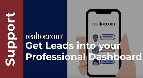 How to get leads into your professional dashboard