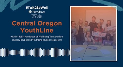 Talk2BeWell: Central Oregon Youthline
